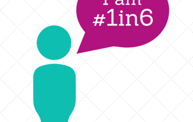 About 1 in 6 couples struggle with infertility; I am #1in6 graphic   PCRM Fertility Clinic Vancouver