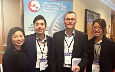 Jason Au, Vancouver embryologist at PCRM | PCRM Fertility Clinic Vancouver