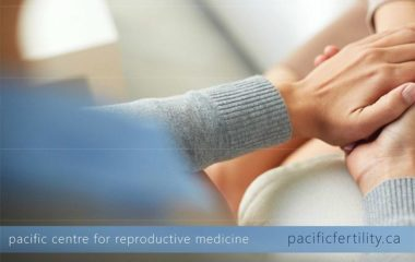 Flyer outlining PCRM's fertility service locations; Burnaby, Surrey, Vancouver and Edmonton | PCRM Fertility Clinic Vancouver & Edmonton